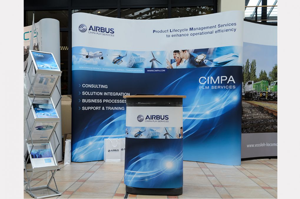 Messestand CIMPA 2014